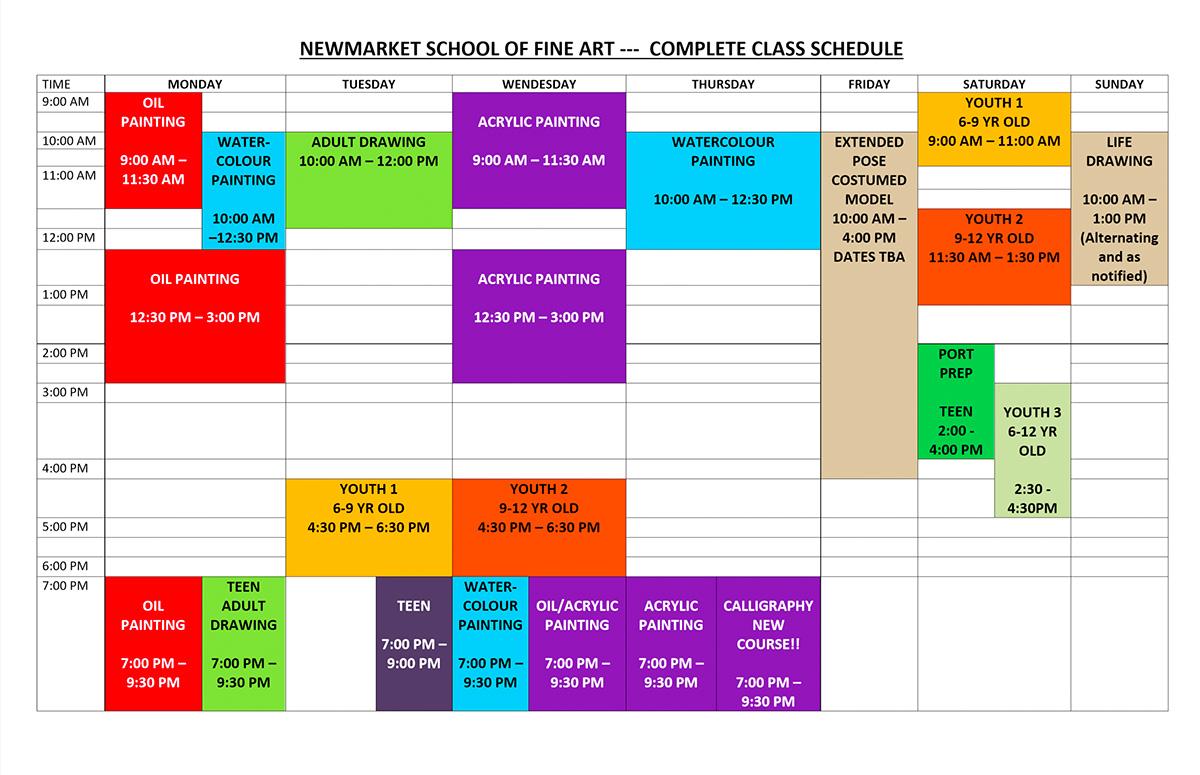 class listing